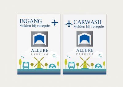 Allure Parking Promotiemateriaal