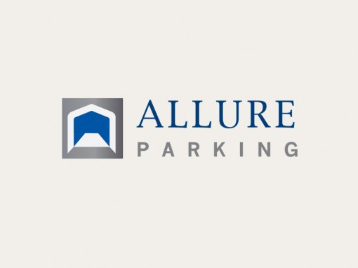 Allure Parking logo and house style