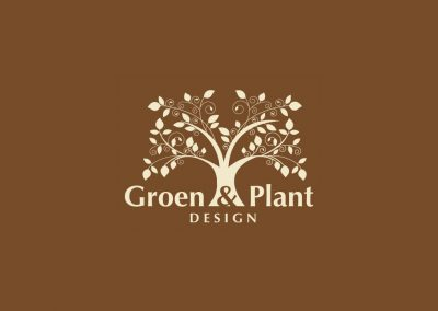 Groen & Plant Design Logo and House style
