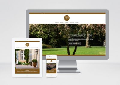 Groen & Plant Design website