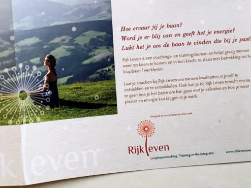 Rijkleven coaching brochure