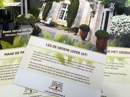 Groen & Plant Design promotional material